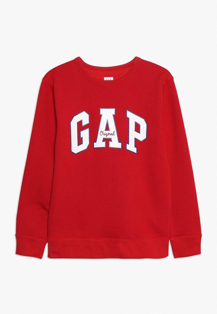 GAP - BOYS ARCH CREW - Sweatshirt - modern red