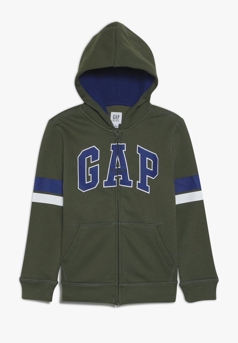 GAP - BOYS  - veste en sweat zippée - desert cactus
