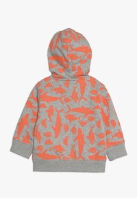 GAP - TODDLER BOY LOGO NOVELTY - Hoodie met rits - light heather grey - 1
