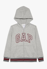 GAP - BOY ARCH - Zip-up hoodie - light heather grey - 0