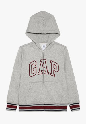 BOY ARCH - Zip-up hoodie - light heather grey
