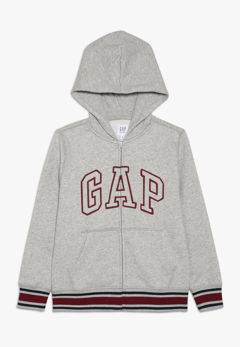 GAP - BOY ARCH - Zip-up hoodie - light heather grey