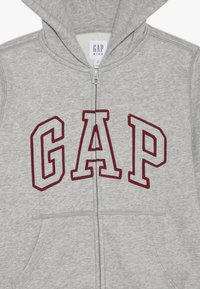 GAP - BOY ARCH - Zip-up hoodie - light heather grey - 4