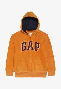 GAP - BOY ARCH HOOD - Giacca in pile - scorch - 3