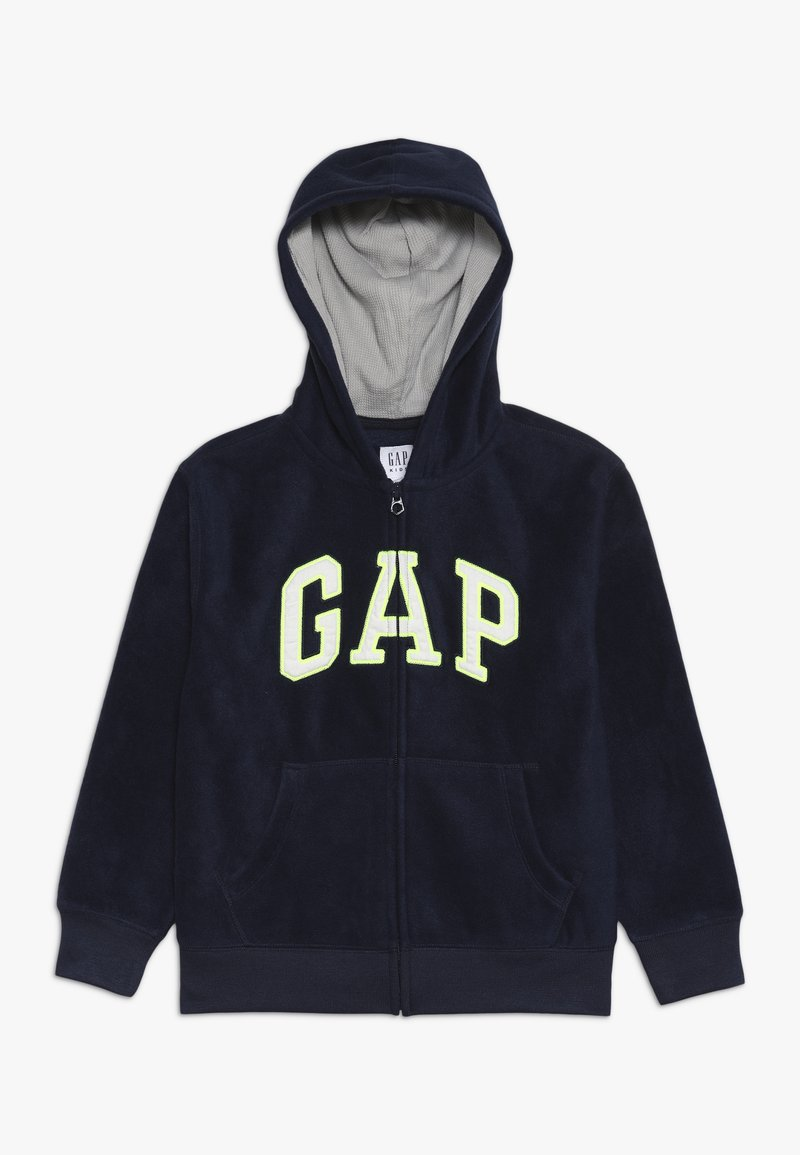 GAP - BOY ARCH HOOD - Fleece jacket - tapestry navy