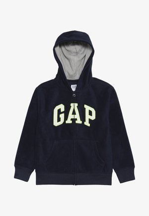 BOY ARCH HOOD - Fleecejakke - tapestry navy