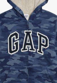 GAP - BOY LOGO GO - Bluza rozpinana - blue - 4