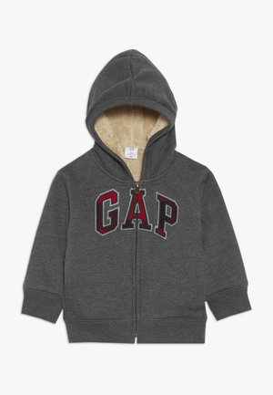 TODDLER BOY COZY LOGO - Jas - dark heather grey