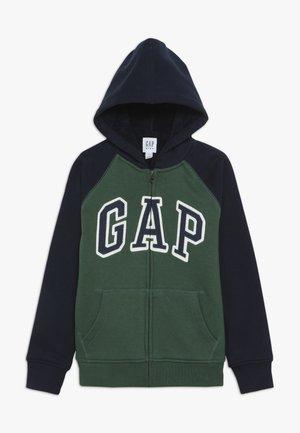 BOY COZY ARCH HOOD - Zip-up hoodie - green gables