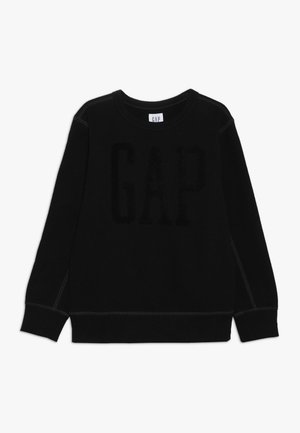 BOY LOGO CREW - Sweatshirt - true black