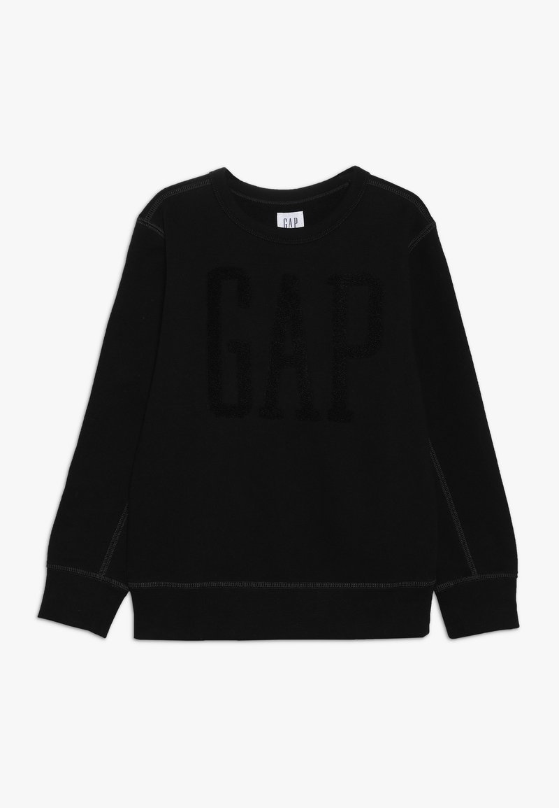 GAP - BOY LOGO CREW - Sweatshirt - true black