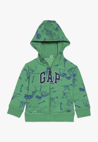 GAP - TODDLER BOY NOVELTY LOGO - Mikina na zip - lush green - 0