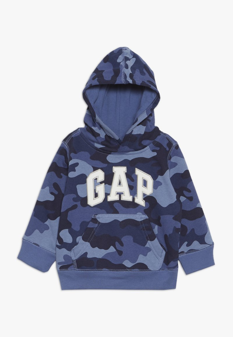 GAP - TODDLER BOY LOGO  - Felpa con cappuccio - blue
