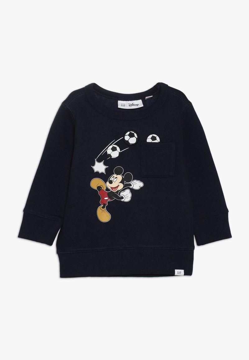 GAP - MICKEY MOUSE TODDLER BOY CREW  - Sweater - true indigo