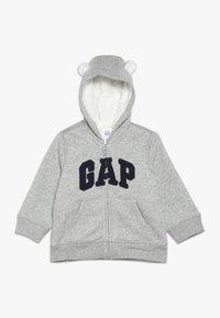 GAP - COZY ARCH BABY - Hoodie met rits - light heather grey - 0