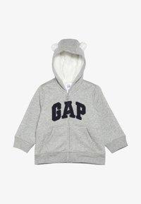 GAP - COZY ARCH BABY - Hoodie met rits - light heather grey - 2