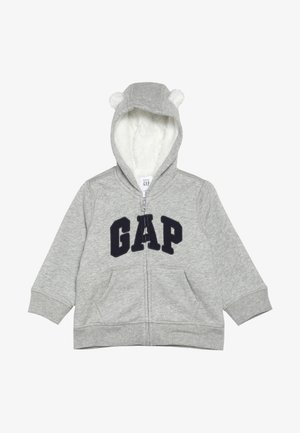 COZY ARCH BABY - Sudadera con cremallera - light heather grey