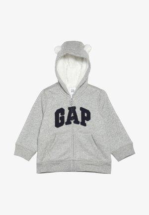 COZY ARCH BABY - Huvtröja med dragkedja - light heather grey