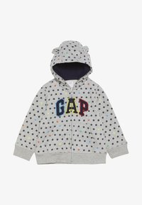 GAP - ARCH HOOD BABY - Sudadera con cremallera - light heather grey - 2