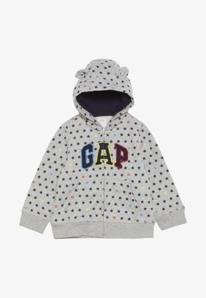ARCH HOOD BABY - Bluza rozpinana - light heather grey