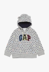 GAP - ARCH HOOD BABY - Sudadera con cremallera - light heather grey - 0