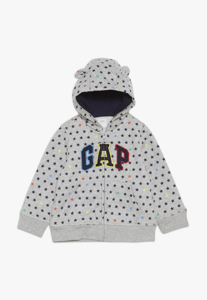 GAP - ARCH HOOD BABY - Sudadera con cremallera - light heather grey