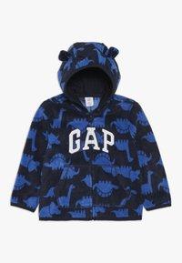 GAP - HOOD BABY - Fleecejacka - navy uniform - 0