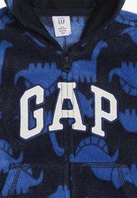 GAP - HOOD BABY - Fleecejacka - navy uniform - 3
