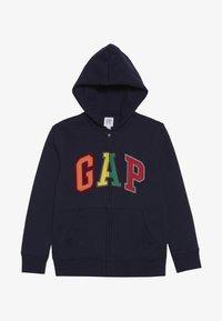 GAP - BOY ARCH - Zip-up hoodie - tapestry navy - 2