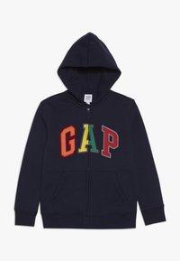 GAP - BOY ARCH - veste en sweat zippée - tapestry navy - 0