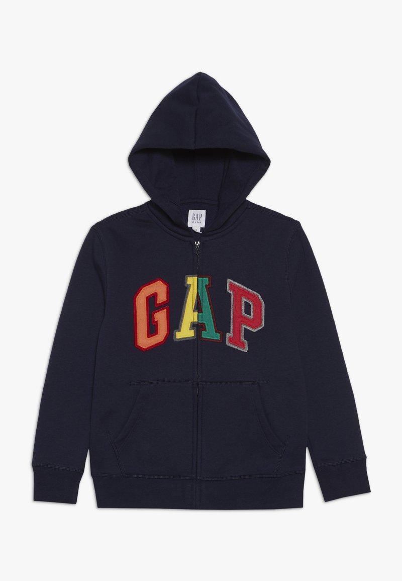 GAP - BOY ARCH - Felpa aperta - tapestry navy
