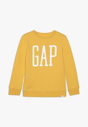 BOY LOGO - Sweatshirt - dark yellow