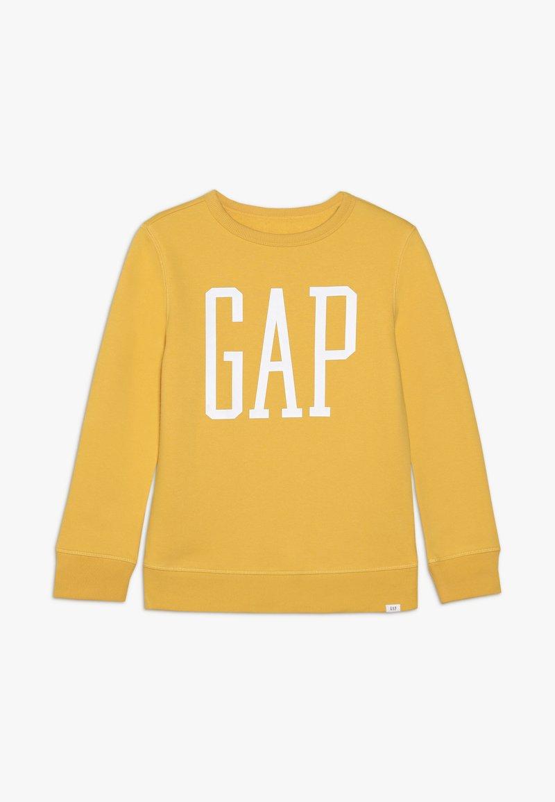 GAP - BOY LOGO - Sweatshirt - dark yellow