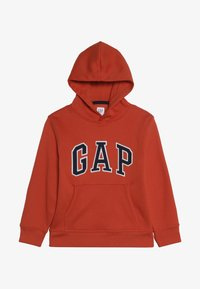 GAP - BOY LOGO HOOD - Hoodie - flare orange - 3