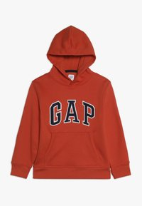 GAP - BOY LOGO HOOD - Hoodie - flare orange - 0