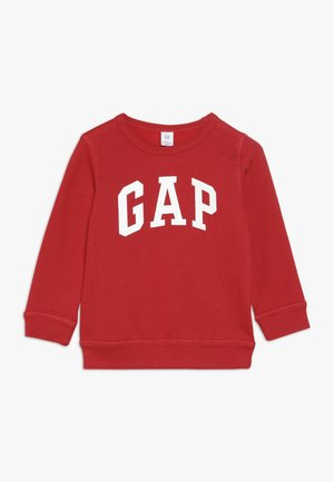 TODDLER BOY LOGO CREW - Bluza - modern red