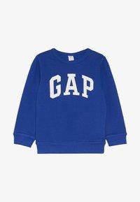 GAP - TODDLER BOY LOGO CREW - Sweater - brilliant blue - 2