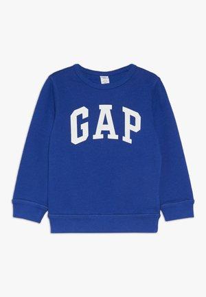 TODDLER BOY LOGO CREW - Sweatshirt - brilliant blue