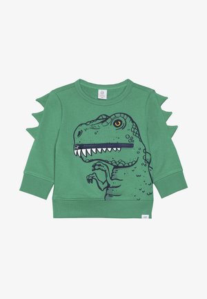 TODDLER BOY 3D CREW - Mikina - happy green