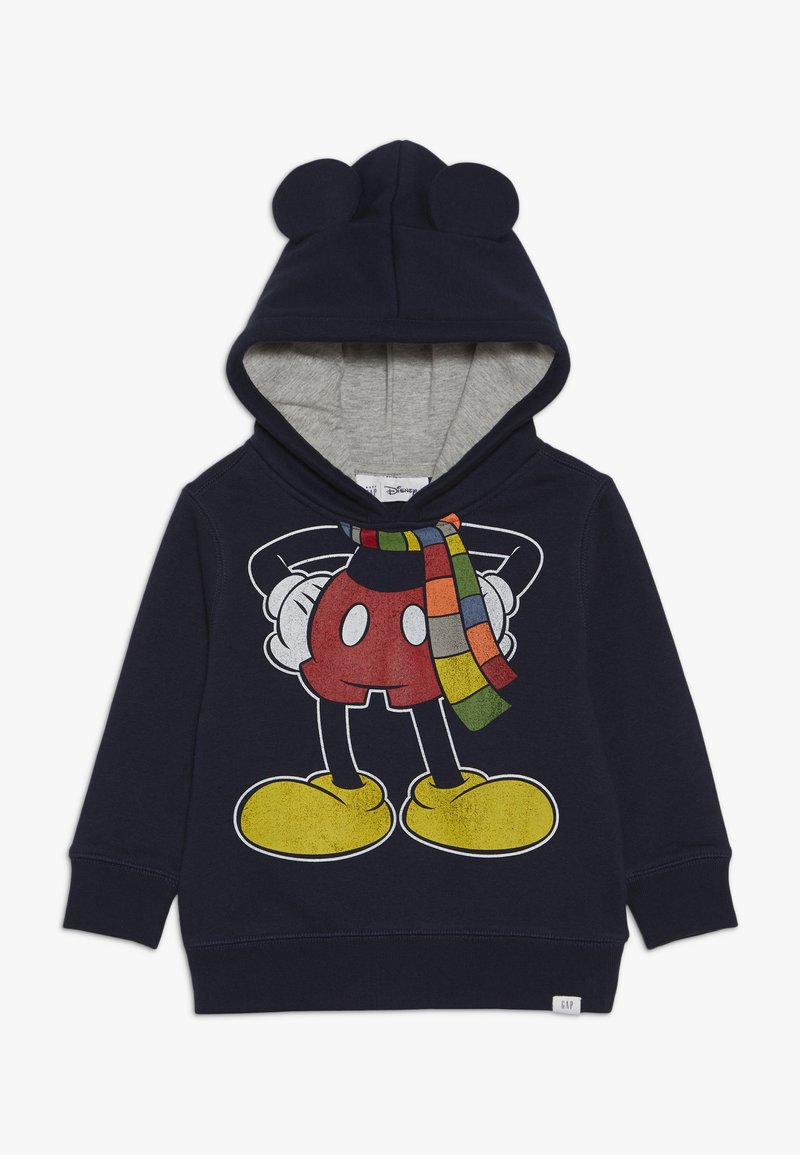 GAP - TODDLER BOY MICKEY HODD - Felpa con cappuccio - blue galaxy