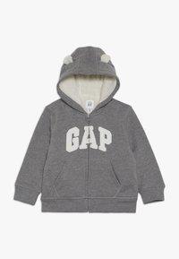 GAP - GARCH BABY - Sudadera con cremallera - heather grey - 0