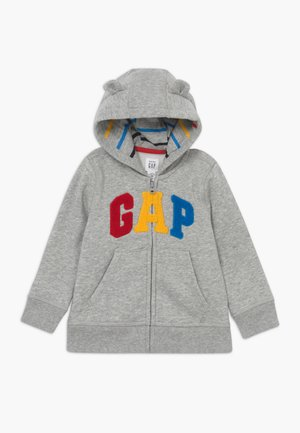 HOOD BABY - Hoodie met rits - light heather grey