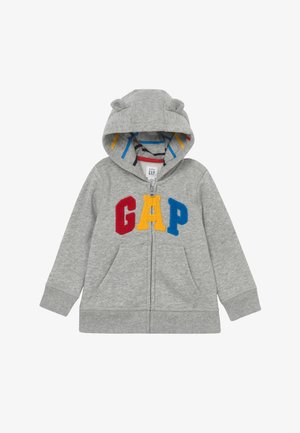 HOOD BABY - Bluza rozpinana - light heather grey
