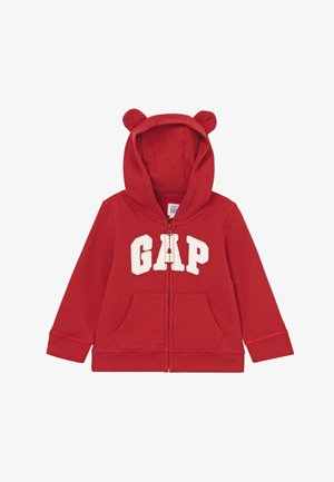 HOOD BABY - veste en sweat zippée - modern red