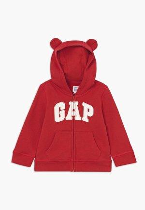 HOOD BABY - veste en sweat zippée - modern red