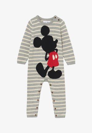 BABY - Sleep suit - light heather grey