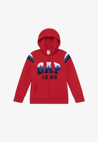 GAP - BOY  HOOD - Felpa aperta - modern red - 2
