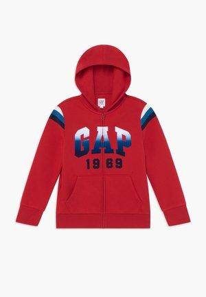 BOY  HOOD - Zip-up hoodie - modern red