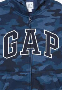 GAP - BOY V-GAP HOOD - Bluza rozpinana - blue - 3