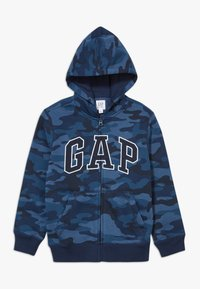 GAP - BOY V-GAP HOOD - Bluza rozpinana - blue - 0